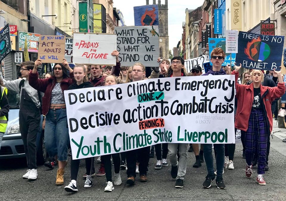 Announced: YouthStrike4Climate at sPark It Liverpool