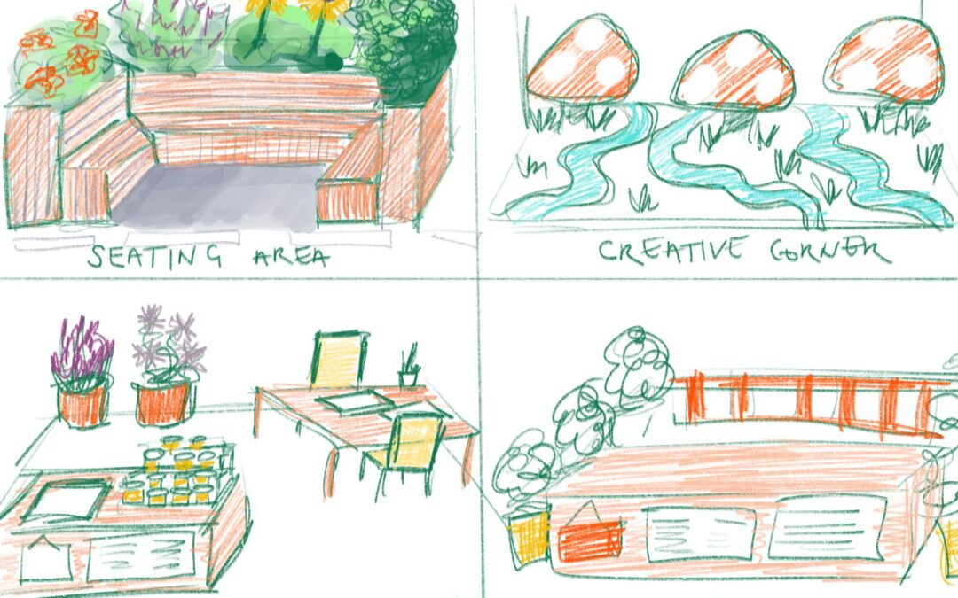 Some concept art from the sParkitects!
